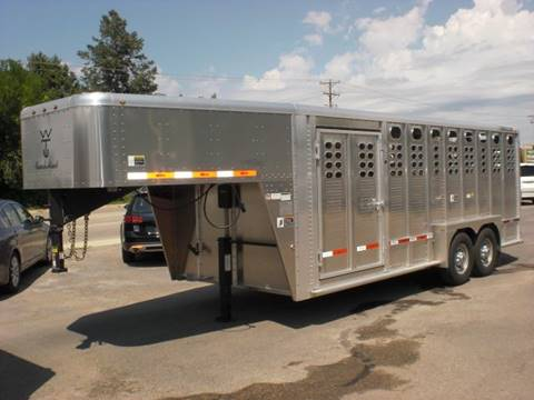 2019 WILSON 20FT RANCH HAND STOCK TRAILER for sale in Sheridan, WY