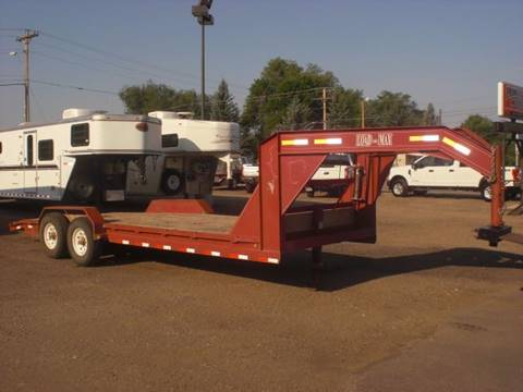 2004 Load Trail 22FT LOWBOY FLATBED TRAILER for sale in Sheridan, WY