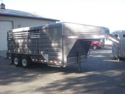 2018 GR 18FT  STOCK COMBO TRAILER for sale in Sheridan, WY