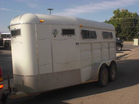 1992 DN 15FT    3-HORSE TRAILER for sale in Sheridan, WY