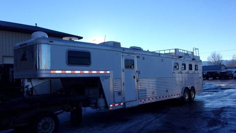 2008 ELITE 4-HORSE LIVING QTRS TRAILER for sale in Sheridan, WY