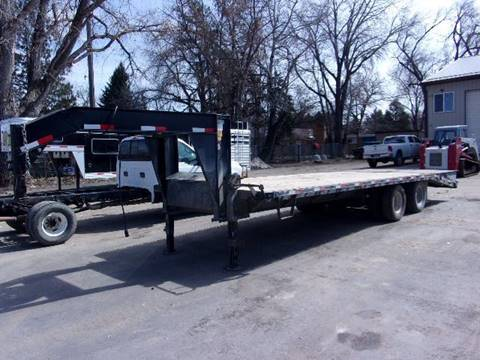 2015 TITAN 26FT FLATBED TRAILER for sale in Sheridan, WY
