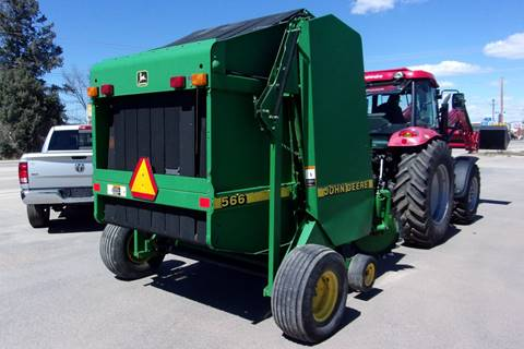 2006 John Deere 566 ROUND BALER for sale in Sheridan, WY