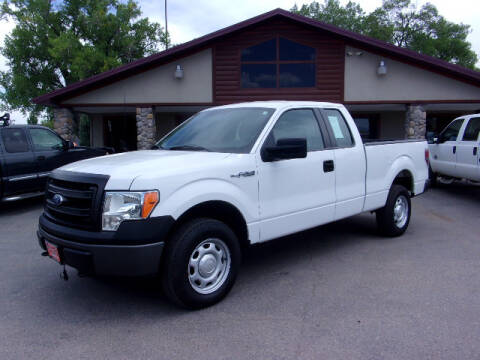 2014 Ford F-150 for sale at PRIME RATE MOTORS in Sheridan WY
