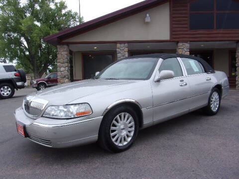 2004 Lincoln Town Car for sale at PRIME RATE MOTORS in Sheridan WY