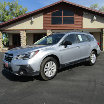 2018 Subaru Outback for sale at PRIME RATE MOTORS in Sheridan WY