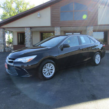 2016 Toyota Camry for sale at PRIME RATE MOTORS in Sheridan WY