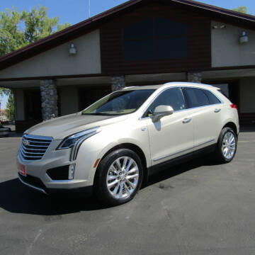 2017 Cadillac XT5 for sale at PRIME RATE MOTORS in Sheridan WY