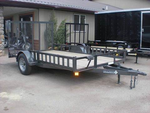 2020 Diamond-T 12FT UTILITY TRAILER for sale at PRIME RATE MOTORS in Sheridan WY
