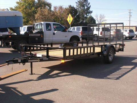 2020 Diamond-T 14FT UTILITY TRAILER for sale at PRIME RATE MOTORS in Sheridan WY