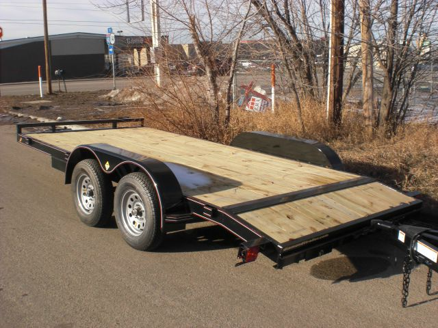 2017 Diamond T 18ft Car Hauler Trailer Bumper Pull In
