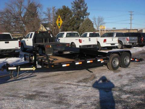 2021 Diamond-T 20FT TILT DECK TRAILER for sale at PRIME RATE MOTORS in Sheridan WY