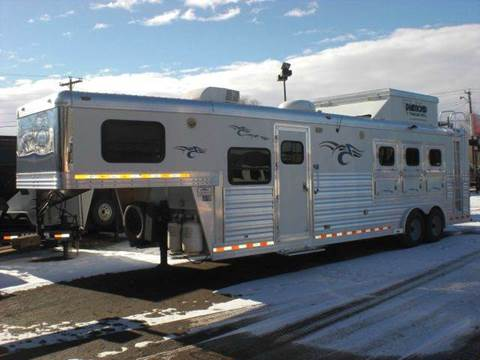 2008 Diamond-T 27ft LIVING QTRS TRAILER for sale at PRIME RATE MOTORS in Sheridan WY