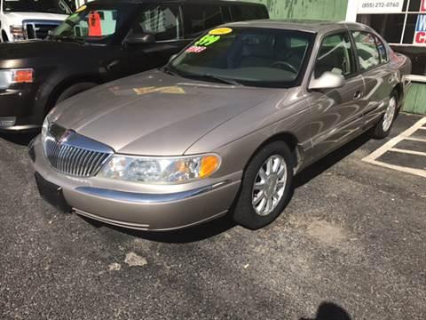 2002 Lincoln Continental for sale in Rutland, VT