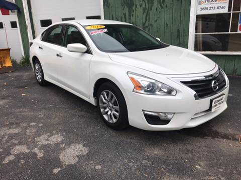 2014 Nissan Altima for sale in Rutland, VT