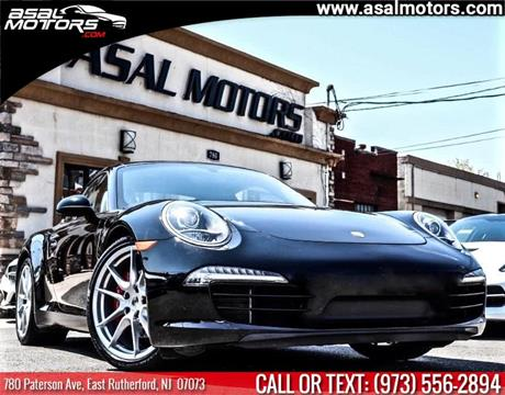 2012 Porsche 911 for sale in East Rutherford, NJ
