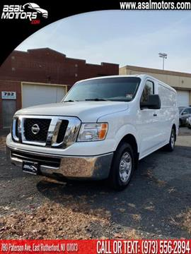 2013 Nissan NV Cargo for sale in East Rutherford, NJ