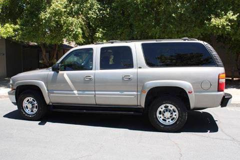 2003 Chevrolet Suburban for sale at K 2 Motorsport in Martinez CA