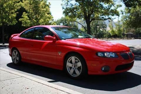 2004 Pontiac GTO for sale at K 2 Motorsport in Martinez CA