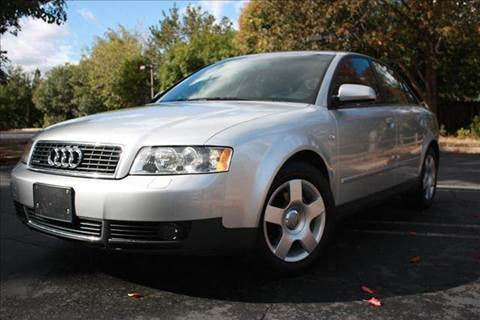 2004 Audi A4 for sale at K 2 Motorsport in Martinez CA