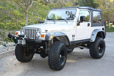 2003 Jeep Wrangler for sale at K 2 Motorsport in Martinez CA