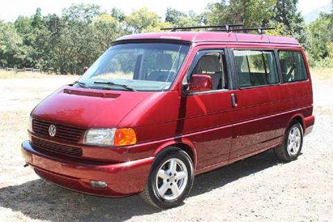 2002 Volkswagen EuroVan for sale at K 2 Motorsport in Martinez CA
