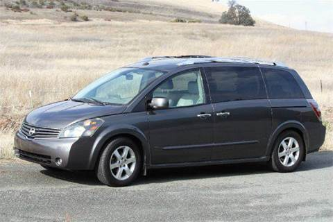 2008 Nissan Quest for sale at K 2 Motorsport in Martinez CA