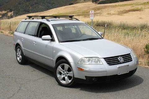2002 Volkswagen Passat for sale at K 2 Motorsport in Martinez CA