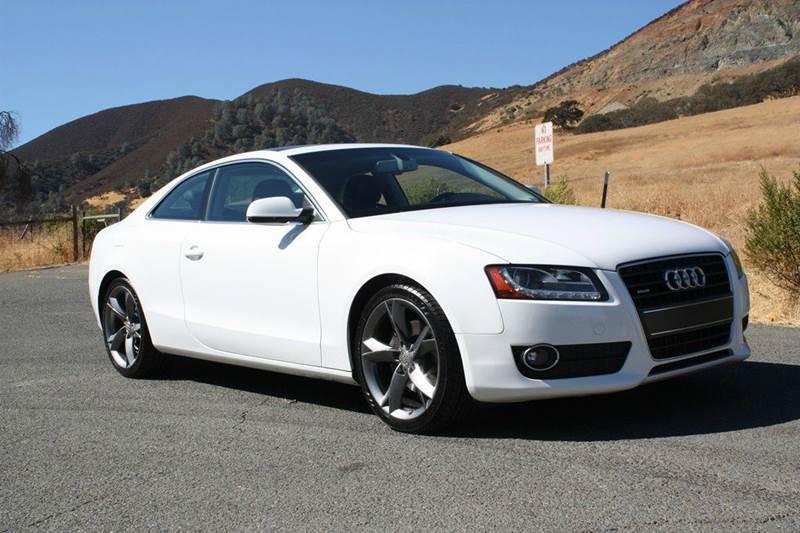 2011 Audi A5 for sale at K 2 Motorsport in Martinez CA