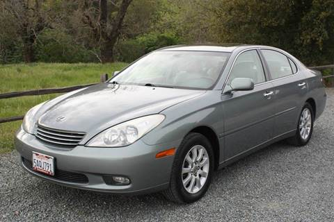 2003 Lexus ES 300 for sale at K 2 Motorsport in Martinez CA