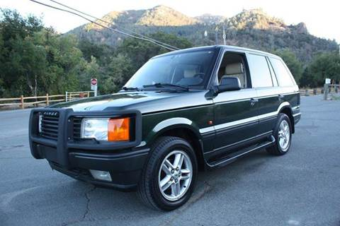 1999 Land Rover Range Rover for sale at K 2 Motorsport in Martinez CA