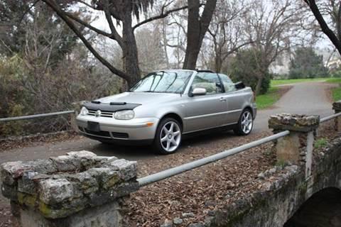 2001 Volkswagen Cabrio for sale at K 2 Motorsport in Martinez CA