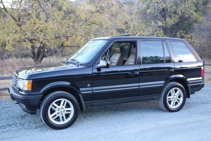 2002 Land Rover Range Rover for sale at K 2 Motorsport in Martinez CA