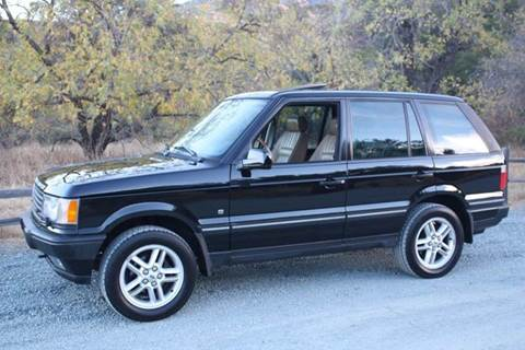 2002 Land Rover Range Rover for sale at K 2 Motorsport in Martinez CA