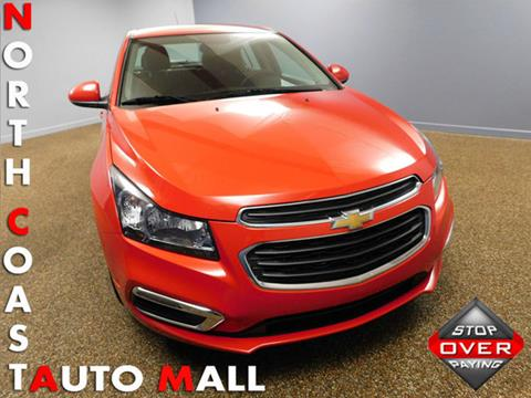 2015 Chevrolet Cruze for sale in Bedford, OH