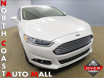 2014 Ford Fusion for sale in Bedford, OH