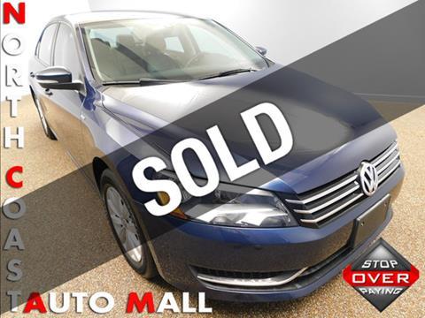 2014 Volkswagen Passat for sale in Bedford, OH