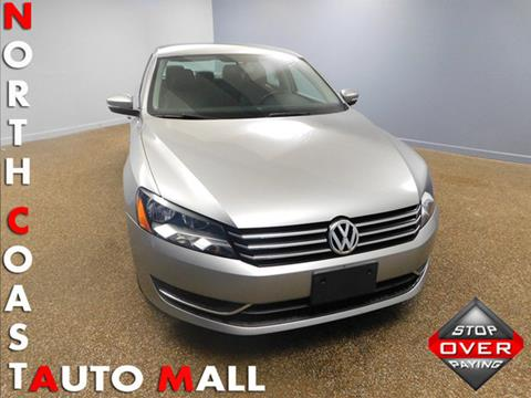 2014 Volkswagen Passat for sale in Bedford, OH