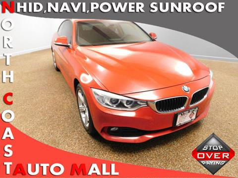 2015 BMW 4 Series for sale in Bedford, OH