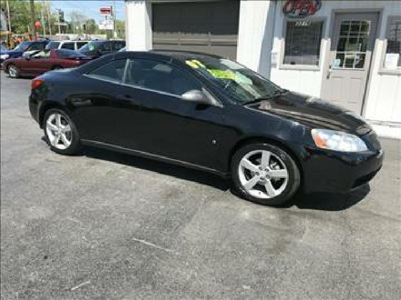 2007 Pontiac G6 GT 2dr Convertible - Fort Wayne IN