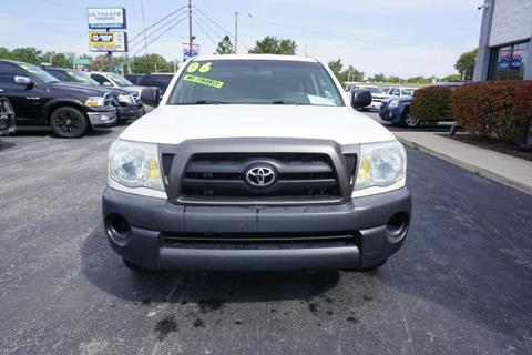 Used 2006 Toyota Tacoma For Sale In Indiana Carsforsale Com