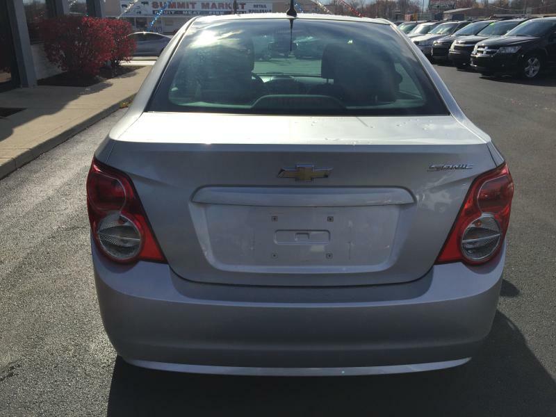 2012 Chevrolet Sonic LS 4dr Sedan w/2LS - Fort Wayne IN
