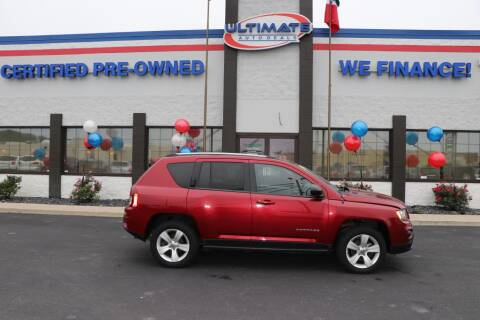 2017 Jeep Compass for sale at Ultimate Auto Deals in Fort Wayne IN