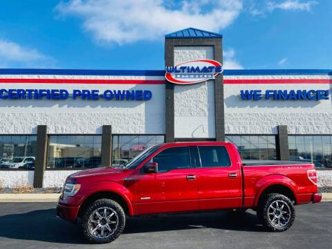 2013 Ford F-150 for sale at Ultimate Auto Deals in Fort Wayne IN