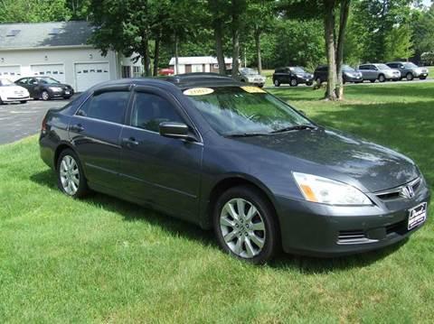 2007 Honda Accord for sale in Turner, ME