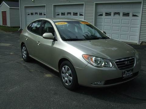 2007 Hyundai Elantra for sale in Turner, ME