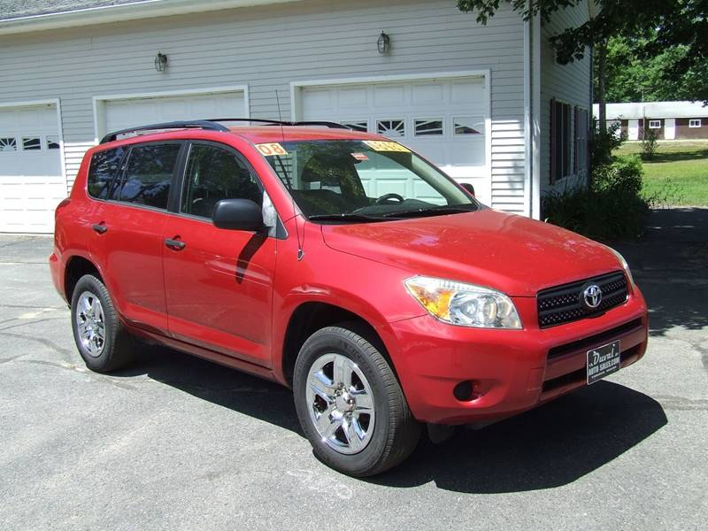 2008 Toyota RAV4 for sale at DUVAL AUTO SALES in Turner ME