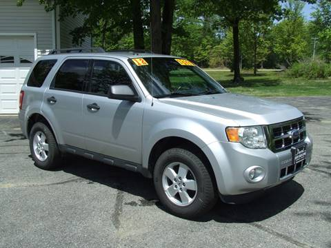 2012 Ford Escape For Sale >> 2012 Ford Escape For Sale In Turner Me