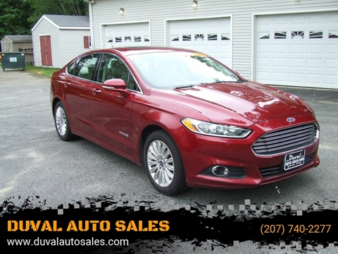 Ford Fusion Hybrid For Sale >> Used Ford Fusion Hybrid For Sale In Maine Carsforsale Com