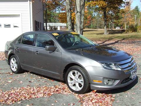2012 Ford Fusion for sale in Turner, ME